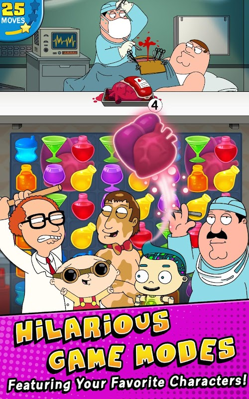 Screenshot 2 Family Guy- Another Freakin' Mobile Game 2.5.9 APK MOD