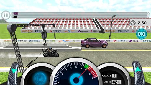 Drag Motorbike Racing