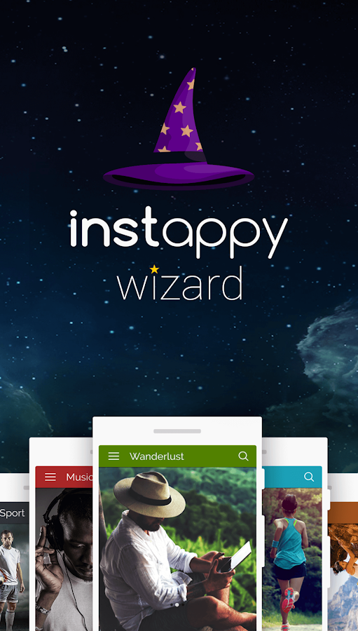 Instappy Wizard- screenshot