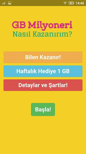 1 GB Kazan - Bedava u0130nternet Paketi 1.0.0 screenshots 1