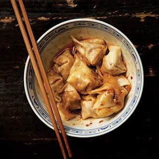 Sichuan Pork Wontons (Chao Shou) Recipe