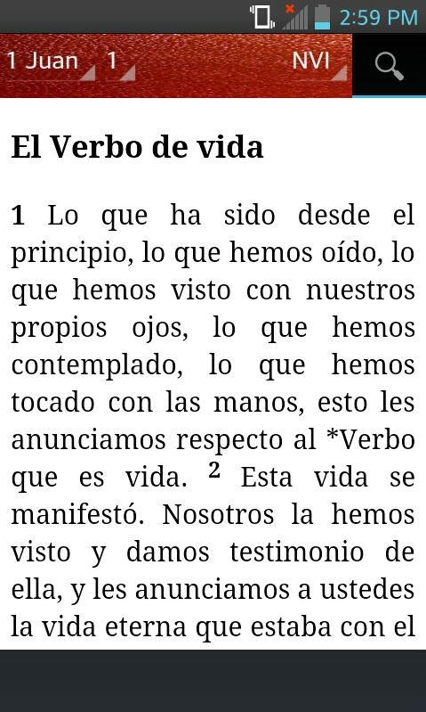 Bible nvi nueva versin internacional spanish android apps on bible nvi nueva versin internacional spanish screenshot fandeluxe Choice Image