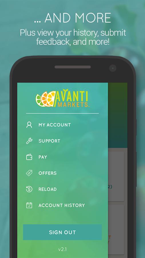 AvantiMarkets-Powered by BYNDL- screenshot