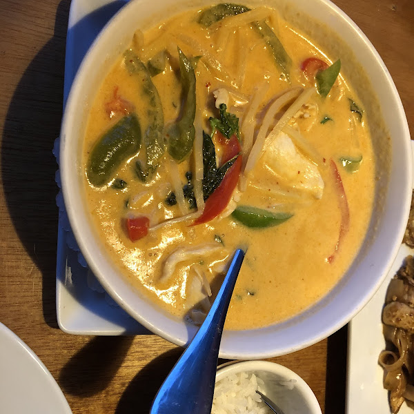 Red curry was very very good!