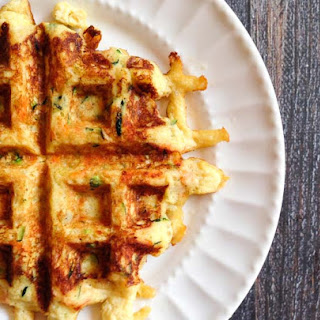 Zucchini & Carrot Waffles (Paleo, gluten free)