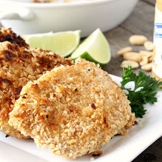 Peanut Butter Panko Pork Chops