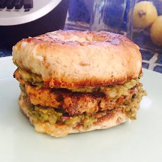 Bagel Breakfast Sandwich (AKA Hill-agel)