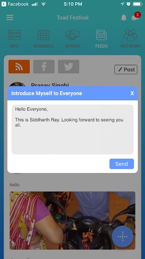 EventOnApp 10.1 screenshots 2