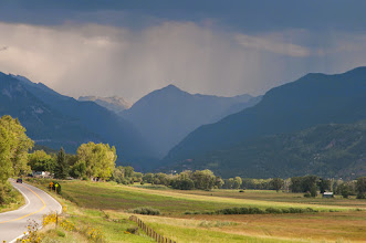 Photo: Thunderstorm over Ouray, CO