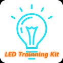 LED 조명 실험 실습장치 제어