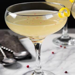 Vodka-Kombucha Cocktail with Cardamom.