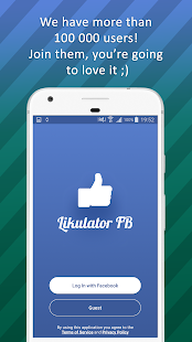 Likulator – likes counter for Facebook - náhled