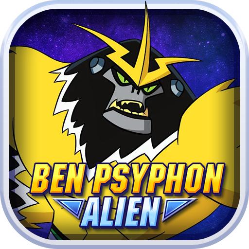 Shocksquatch Alien Ben Psyphon Shooter
