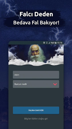 Falcı Dede - Bedava Medyum Fal Bak 1.9 screenshots 1