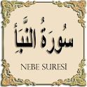 Surah Al-Nabe with voiced icon