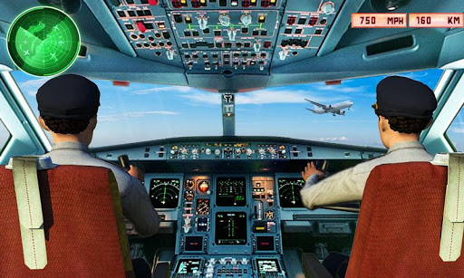 Télécharger Gratuit Flight Simulator 3D: Flight Pilot Airplane Games  APK MOD (Astuce) screenshots 1