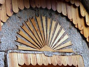 Photo: Zanimljiv detalj iznad ulaza kapelice