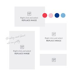 Bright & Bold Mood Board - Mood Board item