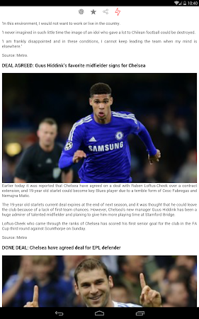Latest Chelsea News & Transfer 5.6 screenshot 978523