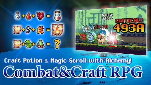 Dungeon & Alchemist - Idle Pixel RPG : Dragon Raid 1.4.16 screenshots 4