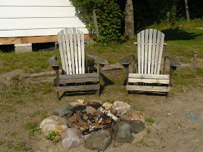 Photo: bonfire pit area