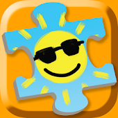Weather Puzzles for Kids- Gold
