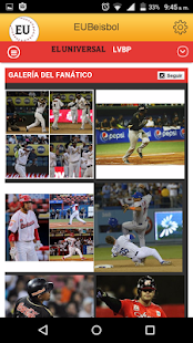 EUBeisbol Screenshot