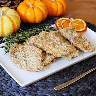 Almond Dijon Turkey Cutlets RecipeAlmond Dijon Turkey Cutlets.