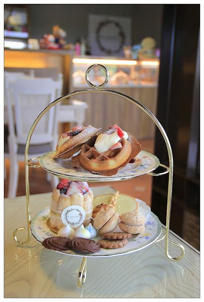 【宜蘭冬山鄉】♧Camellia山茶花法式甜點♣浪漫法式甜點.可愛達菲熊陪你度過優閒午後時光