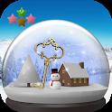 Room Escape Game : Snow globe and Snowscape icon
