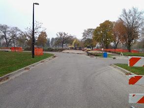 Photo: New Entrance Drive Excavation 10-30-2013