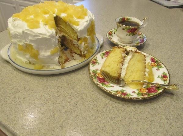 Jamie's Pineapple Cake Recipe