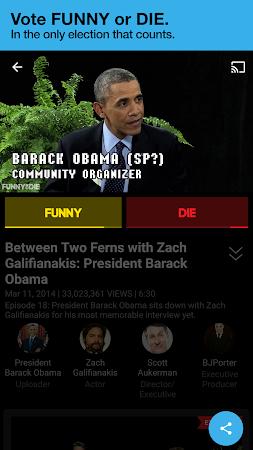 Funny Or Die 2.0.11 screenshot 497900