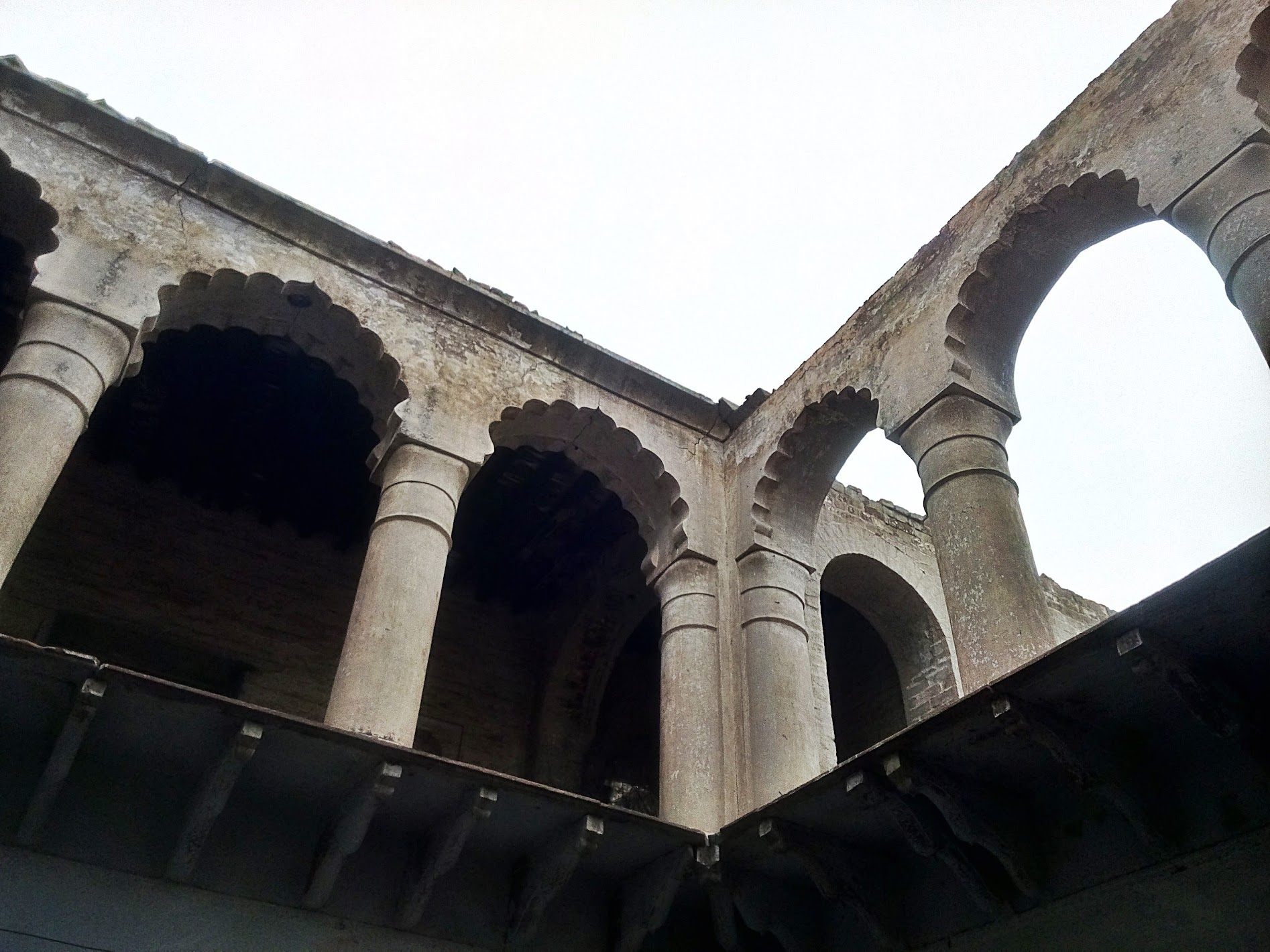 Arches of the temple