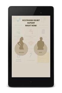 TOILET KARMA - REST ROOM / WASH ROOM MANAGER APP - náhled