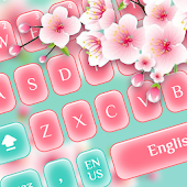 Spring Flower Keyboard Android APK Download Free By Emoji Cute Keyboard Themes