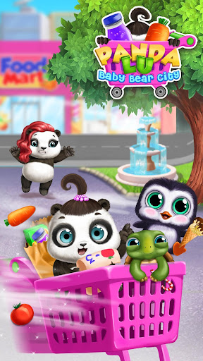 Panda Lu Baby Bear City - Pet Babysitting & Care 3.0.4 screenshots 5