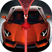 Cars Zipper Lock Screen