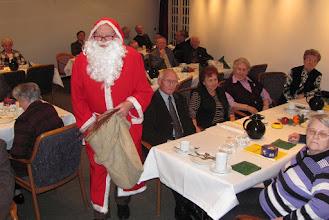 Photo: Adventsfeier mit Nikolaus