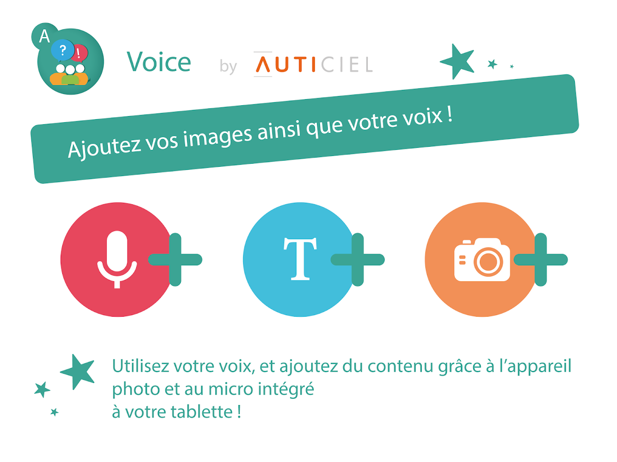 VOICE - Communiquer en images (CAA) - AMIKEO APPS- screenshot