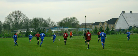 Photo: 03/04/14 v Meldreth (Cambridgeshire County League Bambridge Invitation Cup Round 1) 1-2 - contributed by Martin Wray