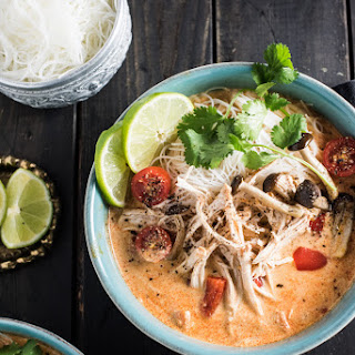 Crock Pot Thai Chicken Soup.