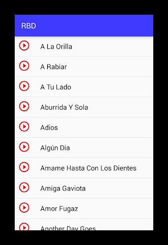RBD Rebelde Musica Letras APK | APKPure ai