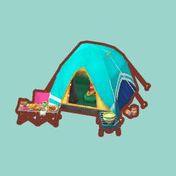 スポーティーなテント