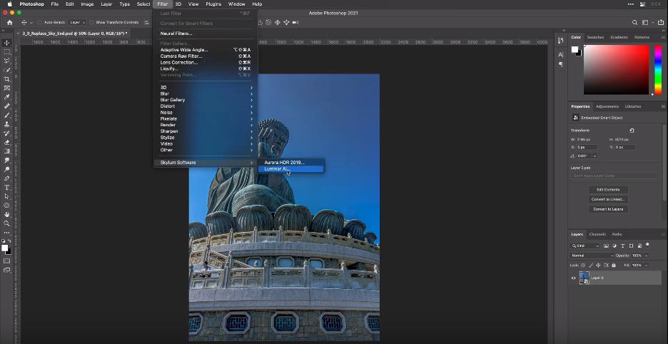 Luminar-ai-software-plugin-for-Adobe-Photoshop