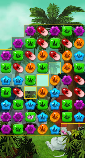 Crush Weed Match 3 Candy Jewel screenshot 6