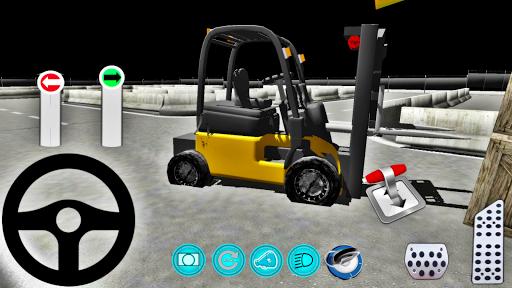 Forklift Simülatör Oyunu 3D