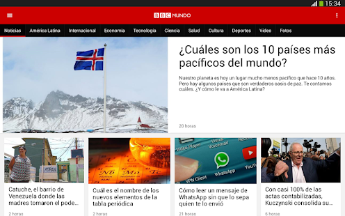 BBC Mundo- screenshot thumbnail