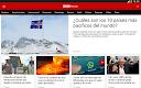screenshot of BBC Mundo