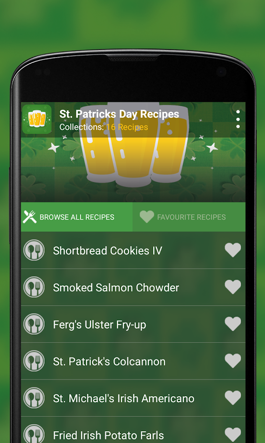 St Patrick's Recipes- screenshot